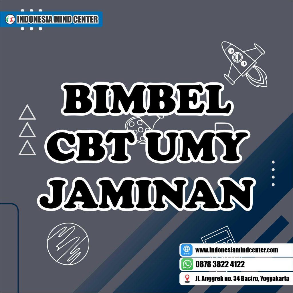 BIMBEL CBT UMY JAMINAN
