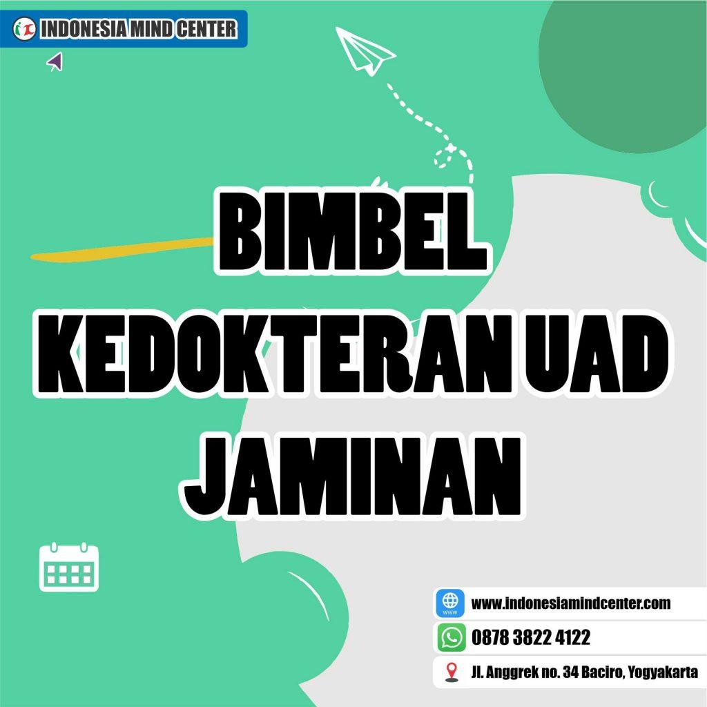 BIMBEL KEDOKTERAN UAD JAMINAN